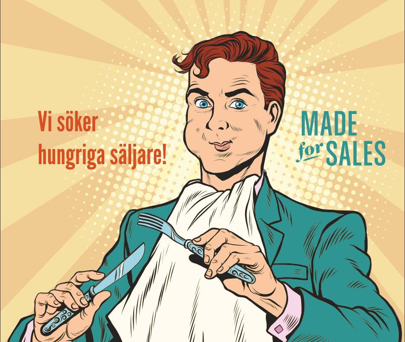 Är du en hungrig säljare?
